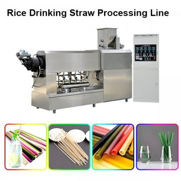 Environmental Strow Pasta Rice Straw Making Equipment Machine for Drinking