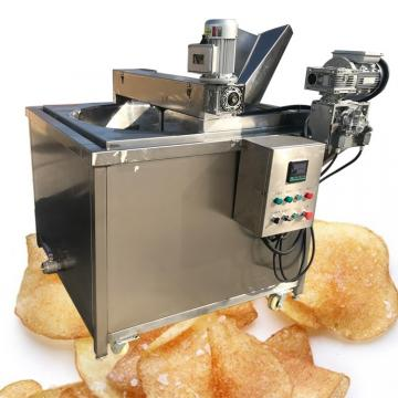 Continous frying machine/French fries frying mahcine/Automatic deep frying machine fryer