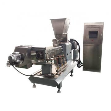 Corn puff snack extruder / maize extruding machine / snack food swelling equipment