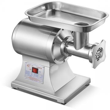 AISI 304 Stainless Steel Industrial Design Electric Manual Meat Mincer 32