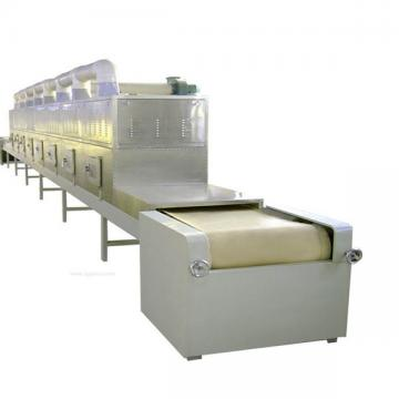 High efficiency continuous microwave tunnel oven for bakery