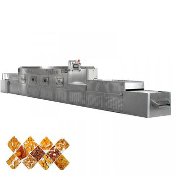 Conveyor industrial microwave dryer oven