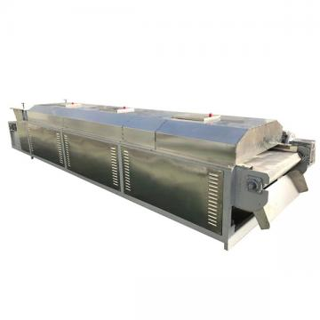 Continuous belt honeycomb ceramics microwave dryer