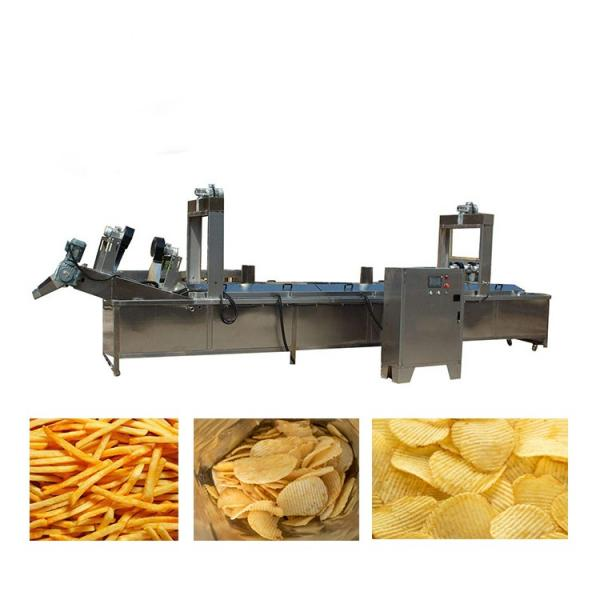 automatic potato chips processing line frozen fries production line for french fries #3 image