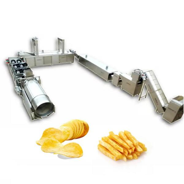automatic potato chips processing line frozen fries production line for french fries #1 image