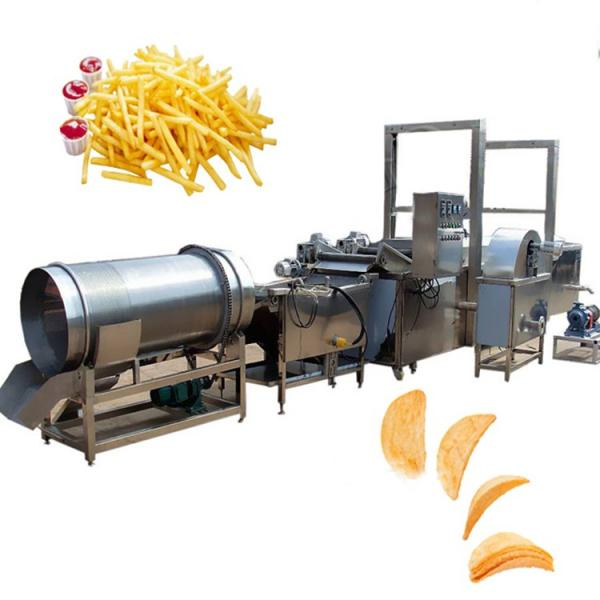 automatic potato chips processing line frozen fries production line for french fries #2 image